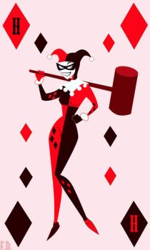 Harlequin by Fox-The-Wandering