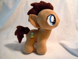 Doctor Whooves pony colt plush by craftybird