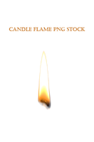 Candle Flame PNG STOCK by KarahRobinson-Art