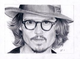 Johnny Depp by Astabrata