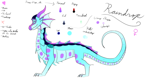 New Raindrop Ref! by Seawing3220