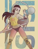 Sporty Isis - Smite by FlixArts