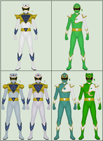 Shikon Sentai Kyokuger, P4: Extra Tune Changes by Omega-King-DX