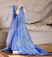 wip - snow queen elsa dress. by verirrtesIrrlicht