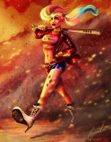 Harley Quinn by SolidBubble