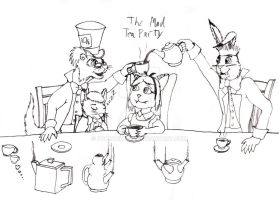Danbuster's Mad Tea Party by DCLeadboot