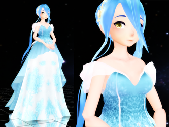 [FEMMD] Evening Gown Azura update by Nintendraw