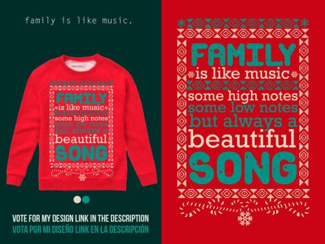 Ugly Sweater Contest by daniacdesign