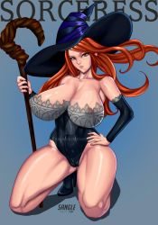 sorceress by 5Angle