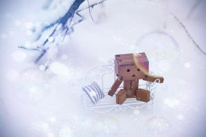 Lonely Danbo by lightlanaskywalker