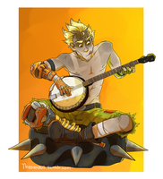 Junkrat + Banjo = great success by Thea0605