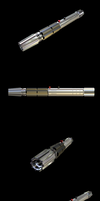 Lightsaber, new style. by DaveLuck