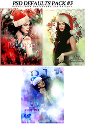 PSD Defaults Pack #3, Christmas Edition by xx-Anya