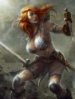 Red Sonja by rey7eighties
