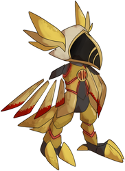 [c] Phaetomon by glitchgoat