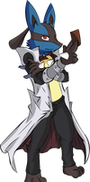 Aaron As Kaiba - colored by Necrath