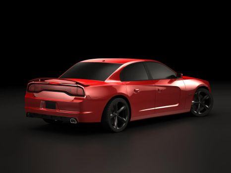Dodge Charger V2 Rear by Imomchilov