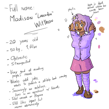[Character Ref] Lavender by Semi-Stick