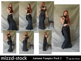Autumn Vampire Pack 2 by mizzd-stock