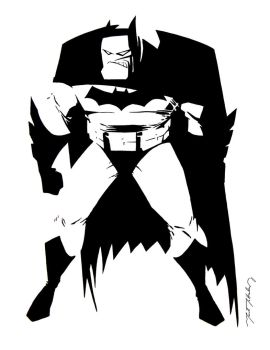 The Dark Knight Animated by markmchaley