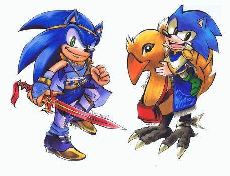 Crossover Sonic Klauser by 7marichan7