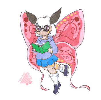 Moth Girl by CyphonFiction