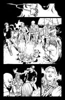 Th Pg08 The Hunger Werewolves art by Elmer Cantada by EVC