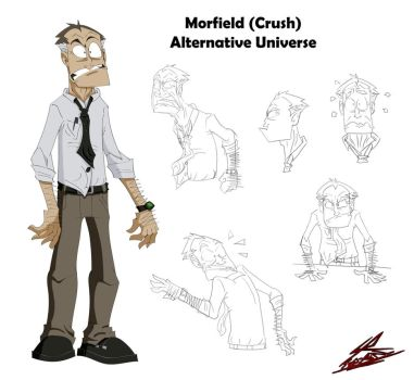 Morfield (Crush)  Alternative Universe by Sub-Real