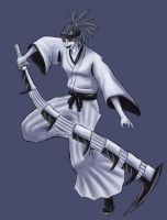 Bleach: Hollow Renji by Raenstrife