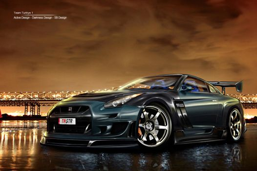 Nissan GTR WTBR2 by Active-Design