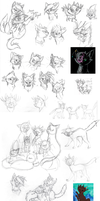 TGB Sketches 5 by TickleMeFrosty