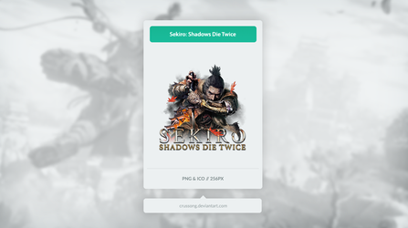 Sekiro: Shadows Die Twice - Icon by Crussong