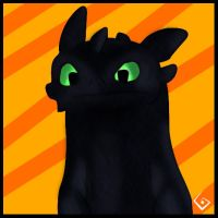 Cute Toothless by Icedrake88