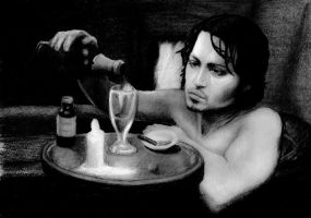 Johnny Depp-from hell by Salvarion