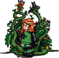 LEGO Poison Ivy by Catanas192
