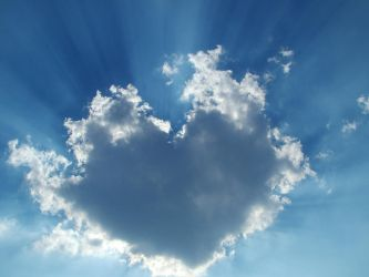 Heart and cloud in one by VenuVen