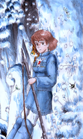 Nausicaa in the forest by sphodromantis