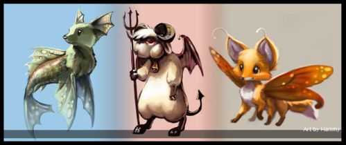 Chimeras Part 1 by hammywammy