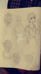 valence and tariku sketches by TheL3tterM