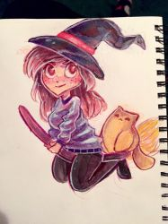 Cutest Witches Ever by Katzun