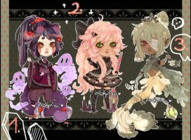 Adoptables06: +CLOSED+ by mostlyniceAdopts