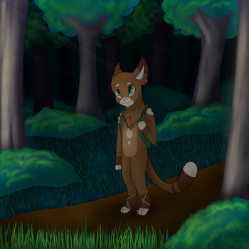 Look at this dude ~Art Trade~ by LilSimona