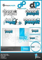Dance People Logo , Stationery by saltshaker911