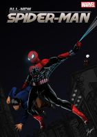 All-new spider-man variant cover comic by me by tontentotza