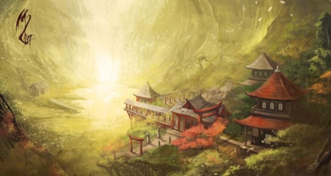 The Shrine by shizen1102