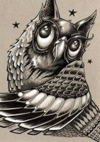 Decorative Owl by bryancollins
