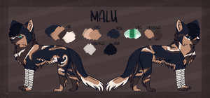 Malu Reference Sheet by Icy-HeartProductions
