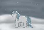 Unicorn of Winter by CaptiveLegacy