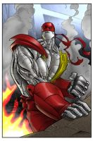 Colossus by CJ and RB by richmbailey