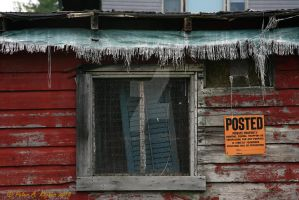 Posted, Shuttered and Tattered by peterkopher